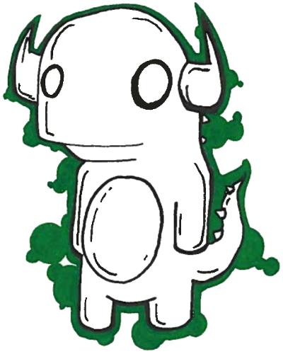GreenDinosaurHSmall